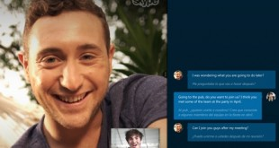 Skype translation