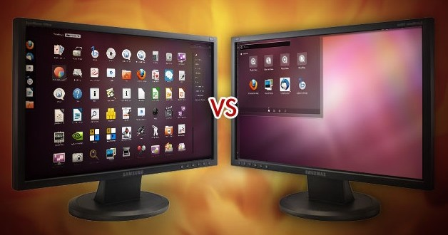 ubuntu 16.4 vs gnome
