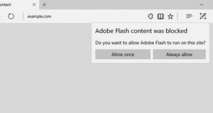 microsoft bans flash player in Edge