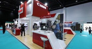 Canon CABSAT 2018 booth - جناح كانون في معرض كابسات 2018