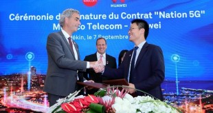 Monaco Telecom and Huawei