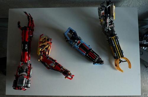 أذرع صناعية صنعها المراهق ديفيد أجيلار لنفسه مستخدما مكعبات الليجو