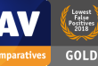 AV-Comparatives Gold award to ESET _falsepositive