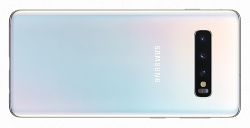 Galaxy S10 Prism White_back