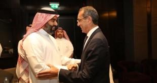 وزيرا الاتصالات المصري والسعودي