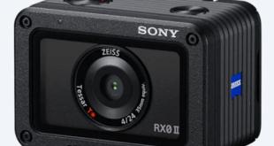 سوني Sony تطلق كاميرا الأكشن (RX0 II (DSC-RX0M2 الجديدة