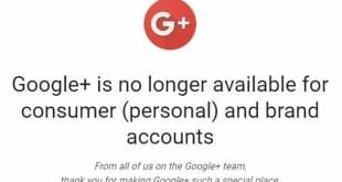 جوجل تغلق شبكتها الاجتماعية +Google