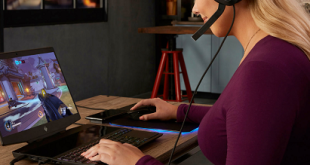"""""""HP"""" تكشف عن حاسب محمول مخصص للألعاب بشاشة مزدوجة"""