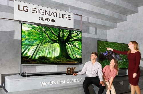 The world's first 8K OLED TV