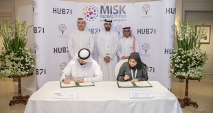 Hub71 and Misk MoU Signing- Image