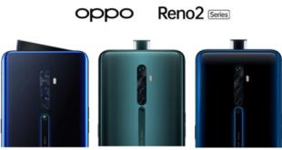 OPPO تطلق سلسلة هواتف Reno2 المزودة بأربع كاميرات
