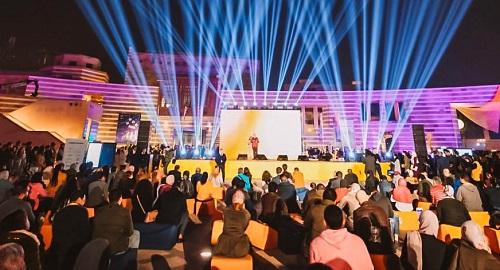 """انطلاق النسخة السابعة من """"رايز أب"""" بمقر الجامعة الأمريكية بالقاهرة الجديدة"""
