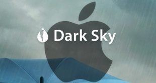 dark sky weather and apple