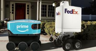 تزايد استخدام الروبوتات في خدمات التوصيل في زمن كورونا