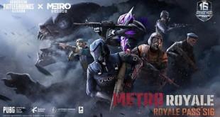 ببجي موبايل و METRO EXODUS تقدمان رويال باس الموسم 16 بتعاون هو الأول من نوعه