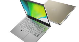 """""""آيسر Acer"""" تطلق أحدث الحواسيب المحمولة للمستهلكين ضمن سلسلتي Spin و Aspire"""