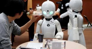 الروبوتات في اليابان توفر الراحة أثناء جائحة كوفيد-19