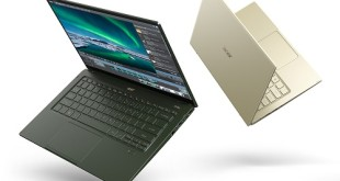 آيسر Acer تطلق مجموعة الحواسيب المحمولة الأخف وزناً والأكثر وقوة ضمن مجموعة Swift